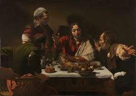 Caravaggio Suuper at Emmaus