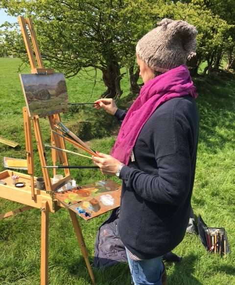 Ann Witheridge London Fine Art Studios Painting Courses